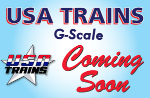 USA Trains Products Coming Soon